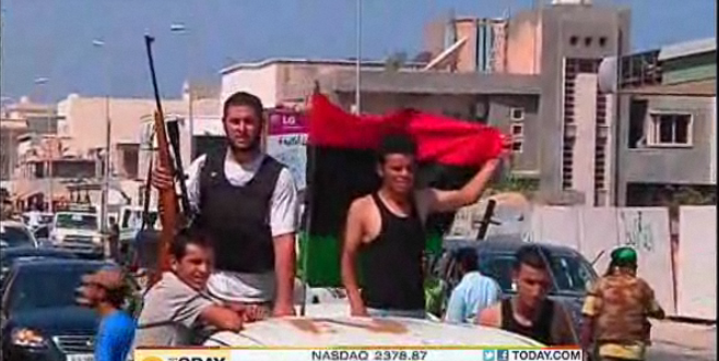 Gadhafi's Exact Whereabouts Unknown Amid Tripoli Clashes (VIDEO)