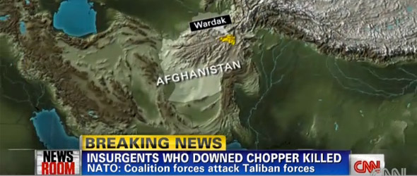 Forces In Afghanistan Kill Militants Involved In Downing Of Chopper