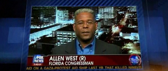 Rep. Allen West Picks A Fight With Dems On Jobs Says Democrats Oversee A &#8220;21st Century Plantation&#8221;