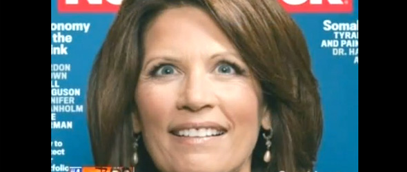 Keith Olbermann: Michele Bachmann's Newsweek Cover Makes Her Look '150 Percent Insane' (VIDEO)