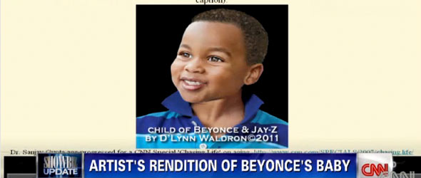 What Will Beyonce-Jay-Z Baby Look Like? (VIDEO)