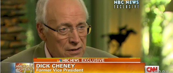 Dick Cheney Is Unapologetic On Policies (VIDEO)