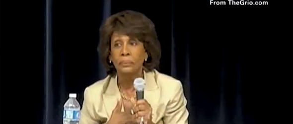 Waters: Some Black Lawmakers Are Hesitant To Criticize Obama (VIDEO)