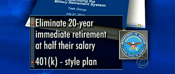 Radical Overhaul Of Military Retirement Eyed (VIDEO)