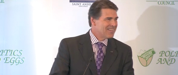 Gov. Perry Responds To President Obama's 'Advice' (VIDEO)