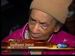 101-Year-Old Detroit Woman Foreclosed On, Evicted