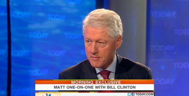 Bill Clinton: GOP Argument On Taxing Wealthy Americans 'An Insult To Those People' (VIDEO)
