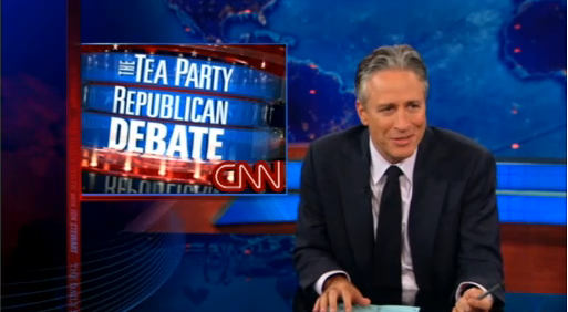Jon Stewart Takes On CNN Tea Party Debate (VIDEO)