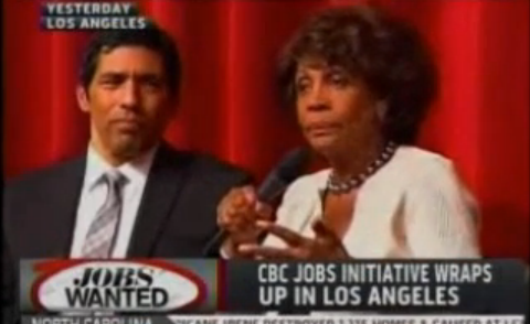 Rep. Maxine Waters: President Should Tax 'Gangsta Banks Out Of Business' If They Dont' Help Homeowners  (VIDEO)