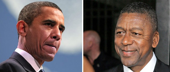 Robert Johnson, Black Leaders Press President Obama On Unemployment