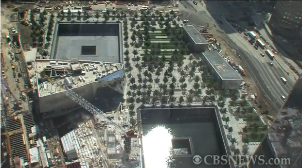 A First Look At The 9/11 Memorial (VIDEO)