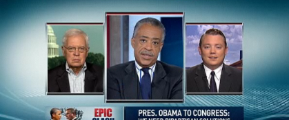 Al Sharpton Incensed About POTUS Jobs Speech Moving (VIDEO)
