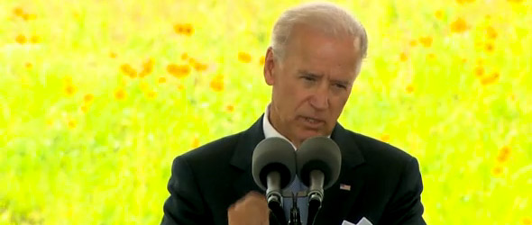 Vice President Joe Biden Honors Heroes Of Flight 93 (VIDEO)