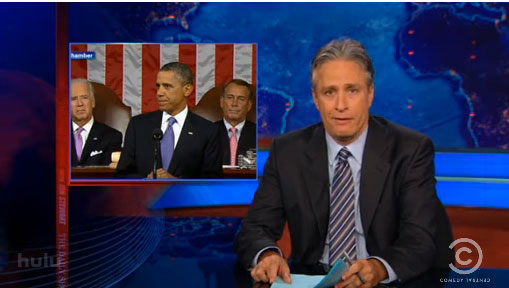 Jon Stewart: 'Campaign Obama Is Back!' (VIDEO)