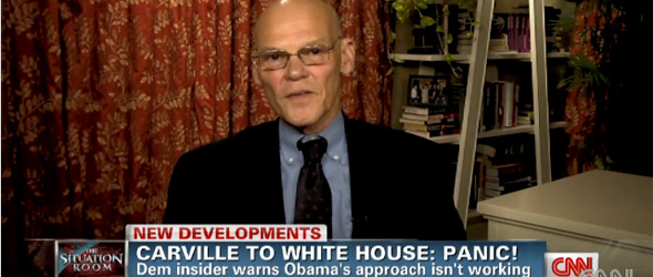 James Carville To White House: Panic (VIDEO)