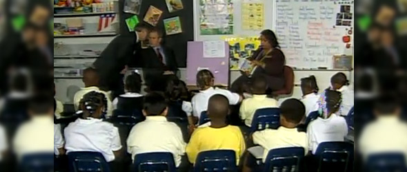 The Class & The President On 9/11 (VIDEO)