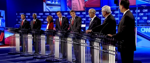 Best Of The CNN/Tea Party Debate (VIDEO)