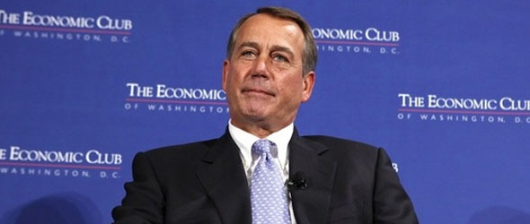 Boehner: Tax Increases Shouldn't Be On Table In Debt Super Committee Talks
