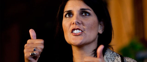 Gov. Nikki Haley Wants To Drug Test Applicants For Unemployment Benefits