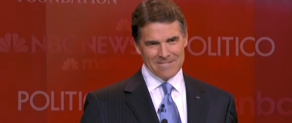 Ponzi Scheme? Rick Perry Explains Social Security Stance (VIDEO)