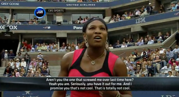 Serena Williams Loses Cool, Title To Stosur (VIDEO)