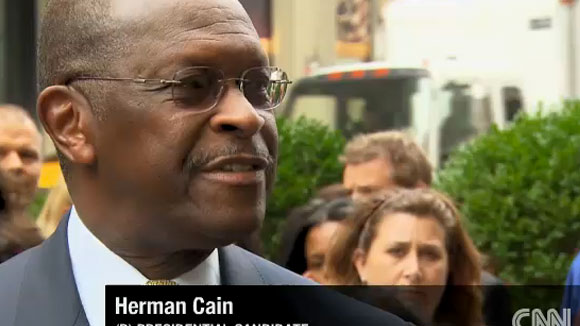 Herman Cain: &#8216;Don&#8217;t Care About A Word On A Rock&#8217; (VIDEO)